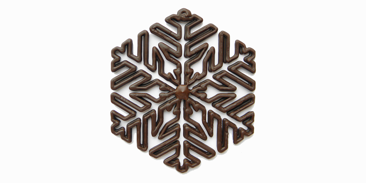 3d-printed-chocolate-snowflake-from-chocedge