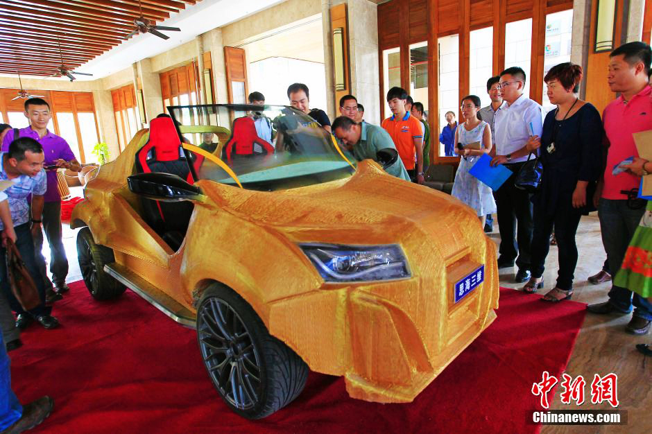 chinese-3D-printed-car-tyrant-yellow